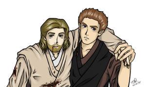 Anakin+Obi-Wan Angst XD by anliya