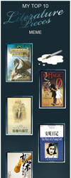 Favourite Books Meme by aixiaolai