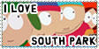 Stamp: I Love South Park by Luffy-Kun