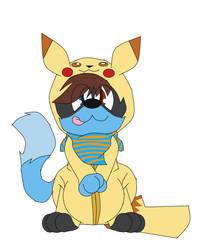 Nick the Pikachu by yoshiwoshipower99