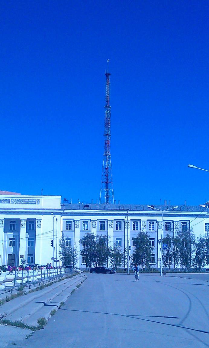 Yakutsk TV tower by Teammate92
