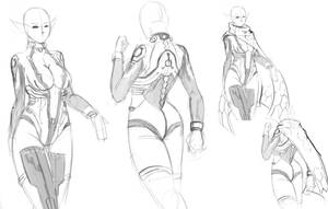 MITHRA tech, suit concept by DCLzexon