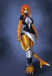 Minerva race concept by DCLzexon