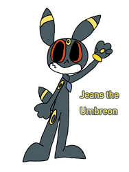 Jeans the Umbreon  by Tetrispriter