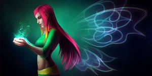 Roxy magic by Rheyan