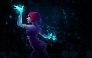 Winx magic Tecna by Rheyan