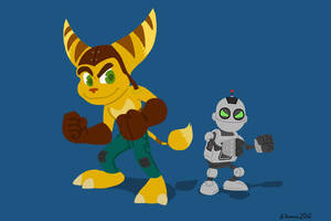 Ratchet and Clank by BThomas64