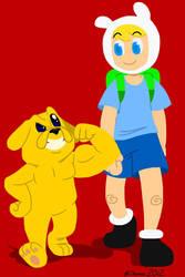 Finn n' Jake by BThomas64