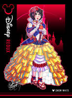 Disney Redux - Snow White by MariposaBullet