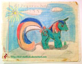 my little pony g1 Fizzy by XSol-StudiosX