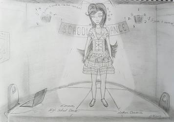Emma - High School Dance. by NatCanDo