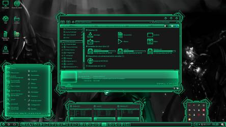 Digital Light Biohazard (v2) by Agelyk