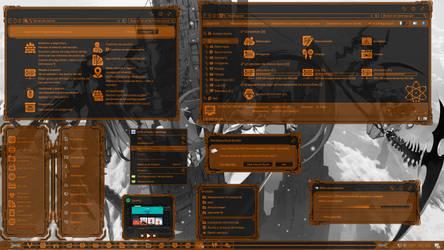 [Theme] NanoPixel V.Orange for Win 10 by Agelyk