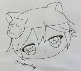The anime man by Cupycakey