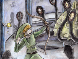 Link vs Bellum by yurionna