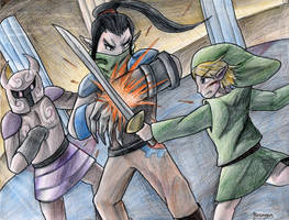 Link vs Byrne by yurionna