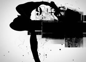 Black Paint texture by Miss-deviantE