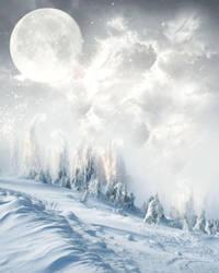 Premade BG Winter by Miss-deviantE