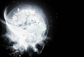 White Bubbles by Miss-deviantE