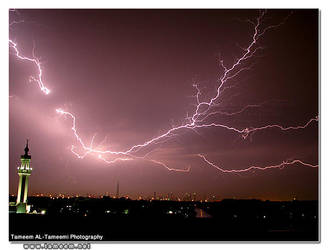 The Thunder Storm by Tameemy