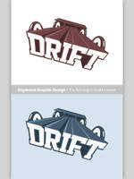 TheDrift logo - 100% Pen tool and 100% Photoshop by RaymondGD