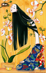 Rokurokubi by Ink-Yami