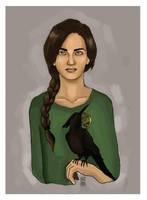 Katniss the Mockingjay by Bleunite