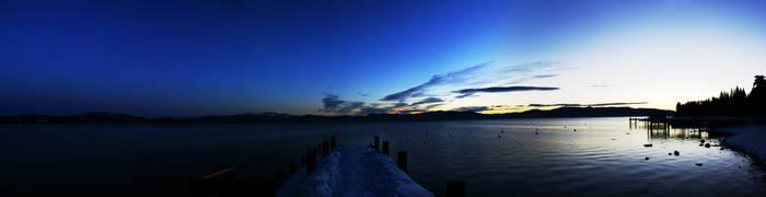 Lake Tahoe at Dawn by RyanRadical