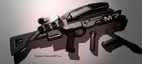 Mass Effect Assault Rifle by stryda429