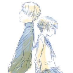 Girl meets boy by lita426t