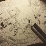 WIP pen drawings by lita426t