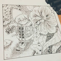Inktober2018 Day01 Poisonous by lita426t