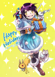 Happy Holidays! 2018 by lita426t
