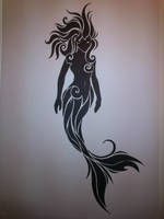 Mermaid tattoo by EmmaMcAuslin666