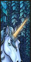 Unicorn Bookmark by Nightlyre