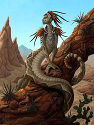 Desert Queen - Limited Edition Prints Available by Nightlyre