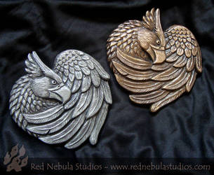 Griffon Wall Plaques by Nightlyre