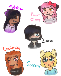Aphmau Sketch Dump by TheSilentSnowflake