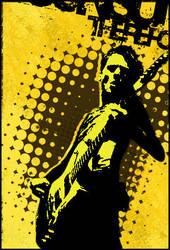 Guitar halftone by xo-MaoriChoco-ox