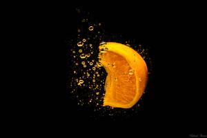 Orange splash by StainXY