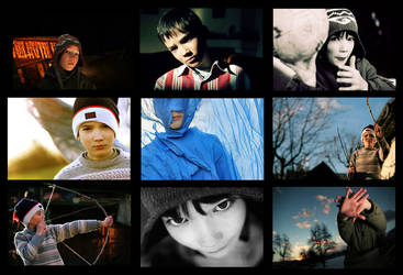 Portrait study by Ciril