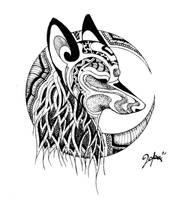 Wolf by Mrblcvk