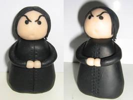 Severus Snape by crimsomnia