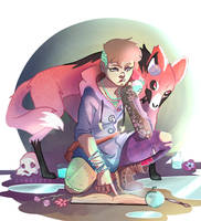Witchsona by zombiose
