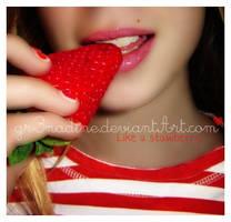 like a strawberry by gr3nadine