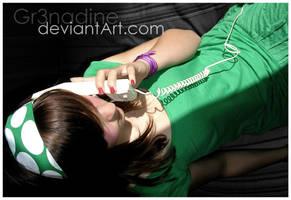 Le telePhone vert by gr3nadine