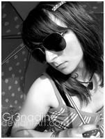 Retro-Glasses 06 Noir et blanc by gr3nadine