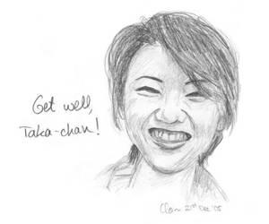 Get Well Soon Taka-chan by Suiki