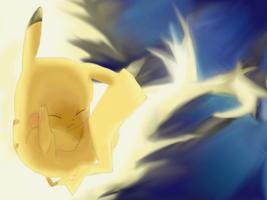I choose you! Pikachu!! by Mendaleave