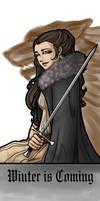 Lady Arya by HostileMoonlight